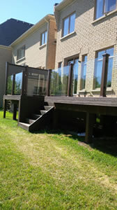 Waterdown Glass & Mirror Glass Deck Panels