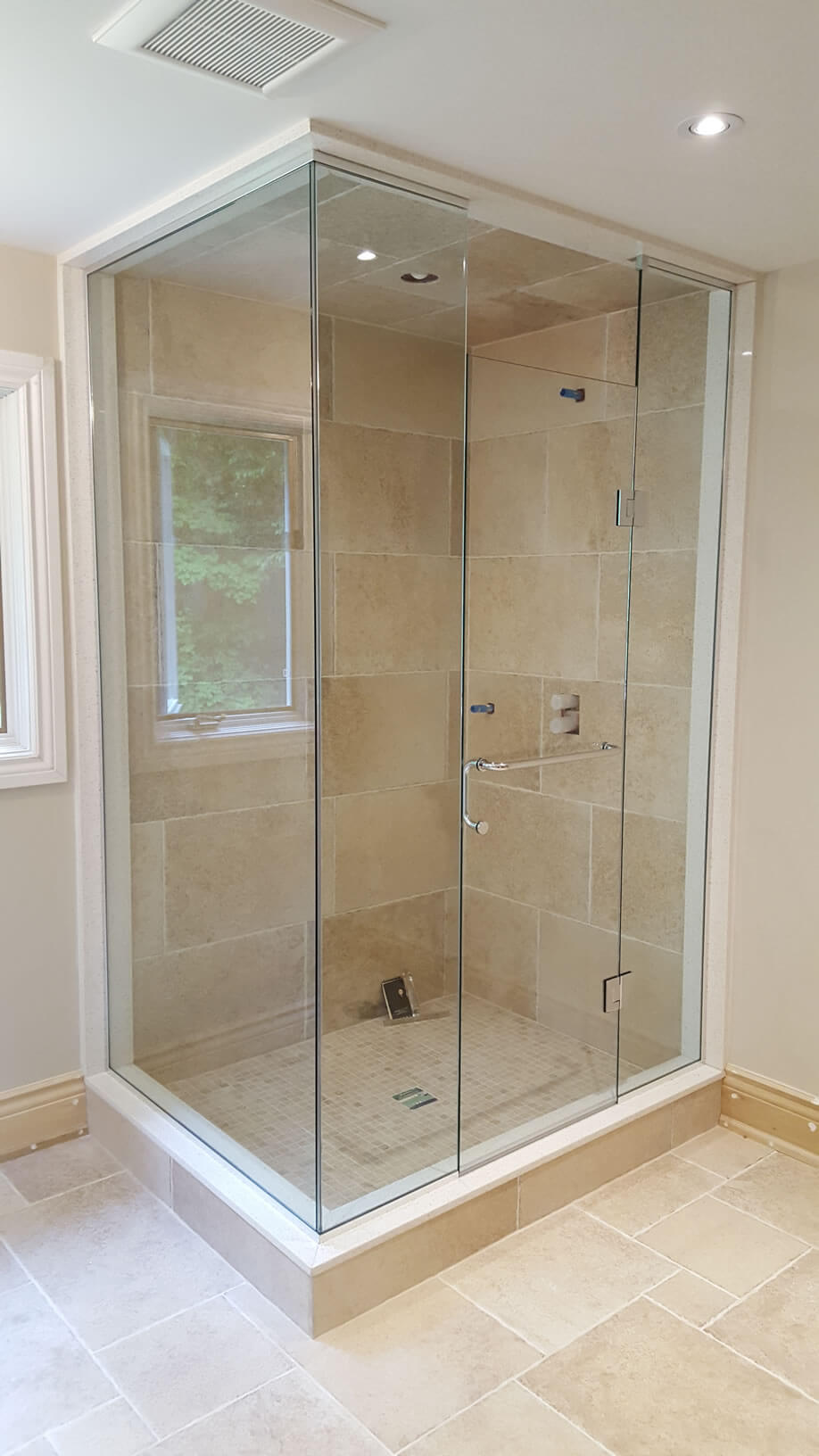 of custom doors frameless slider houston glass enclosures shower door