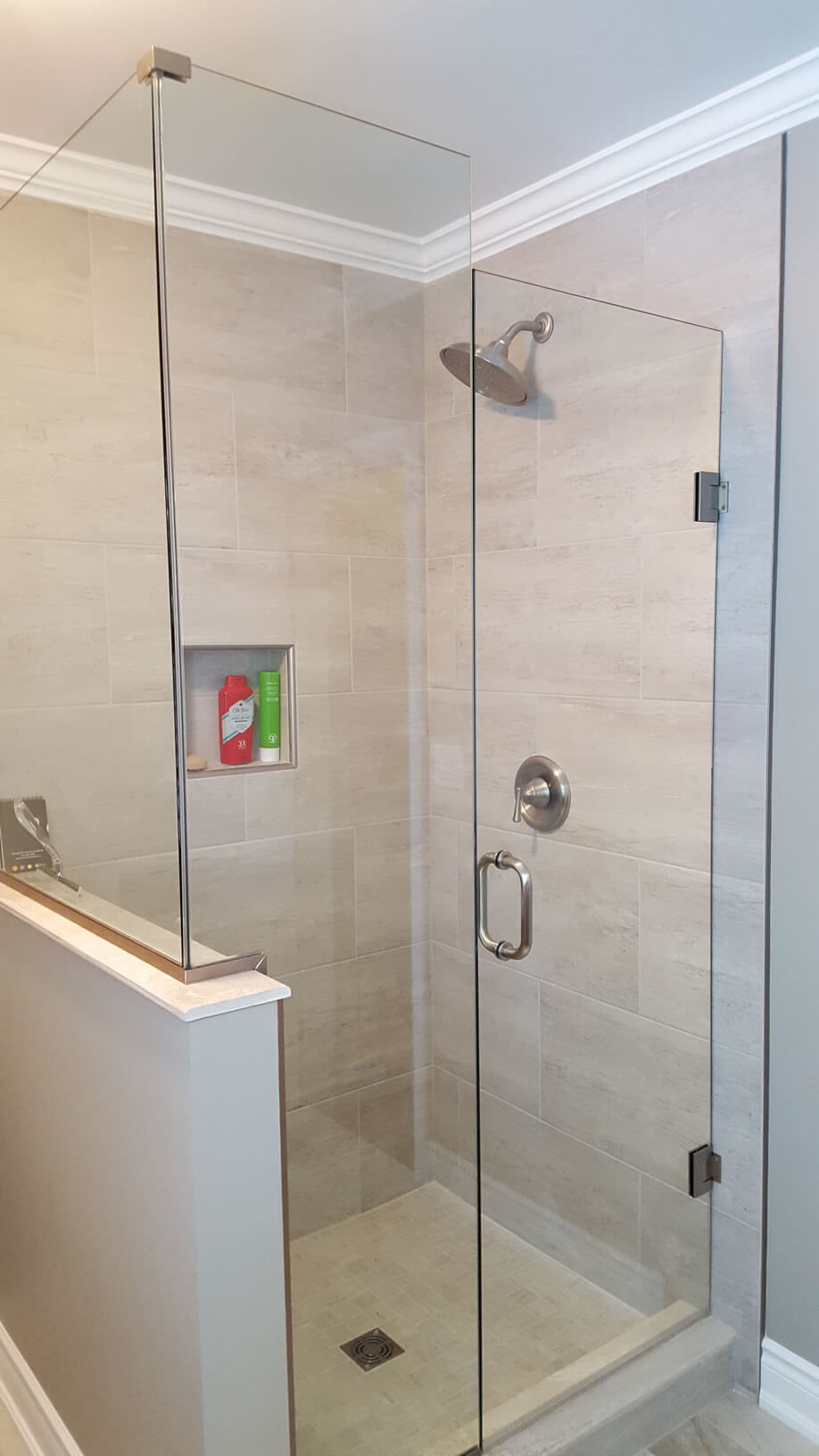 rochester syracuse installations gallery doors door ny residential shower flower glass